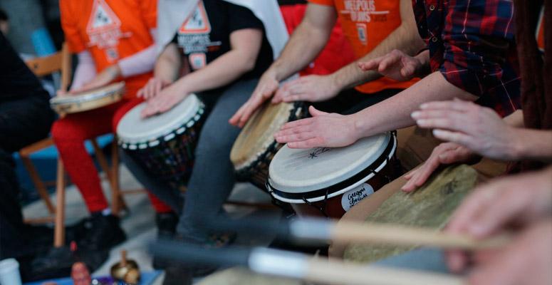 <h2>«Megapolis Drums» </h2>Барабанная Школа